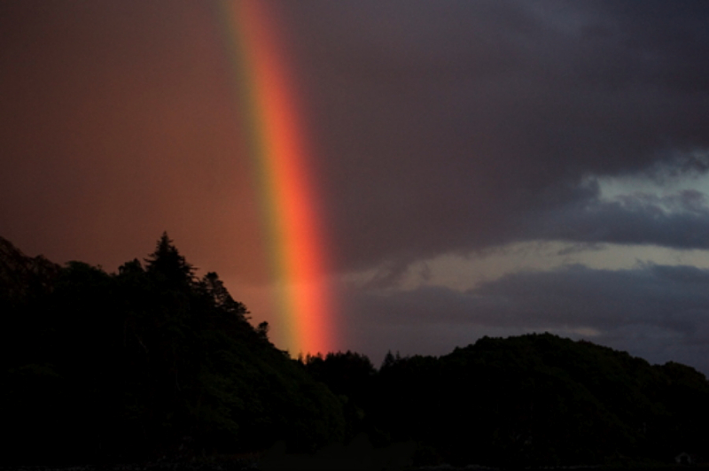 rainbow-at-night-by-castle-tioram-by-chris-jackson-large