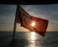 sunset-outer-hebrides-with-flag-by-richard-goodson-large