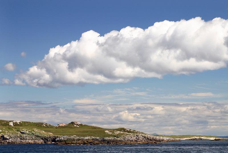 clouds over the monach islands - richard crossen