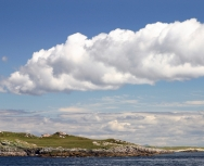 clouds over the monach islands - richard crossen