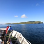 Approaching Berneray (Barra Head Light)
