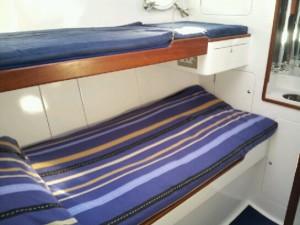 Twin or single cabin