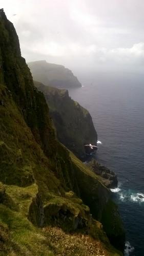 St Kilda cliffs by Craig Robinson