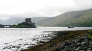 HBj at Eilean Donan Castle by Michelle