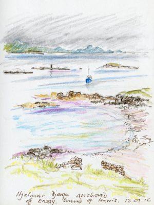 Linda Moss illustration Ensay