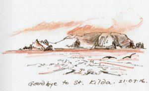 Linda Moss illustration St Kilda