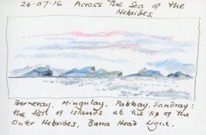 Linda Moss illustration Southern Hebrides