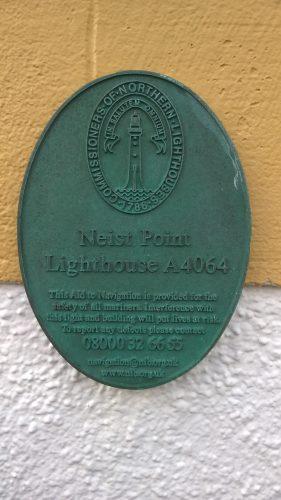 Neist Point plaque