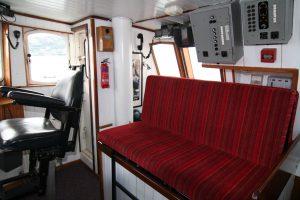 Wheelhouse seating