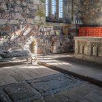 Iona Abbey by Hilary Broadbent
