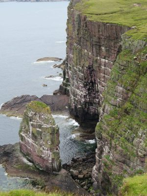 10 Handa cliffs by Hilary Broadbent
